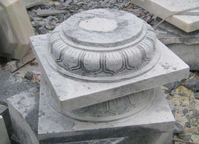 Mẫu đá tảng kê chân cột nhà gỗ