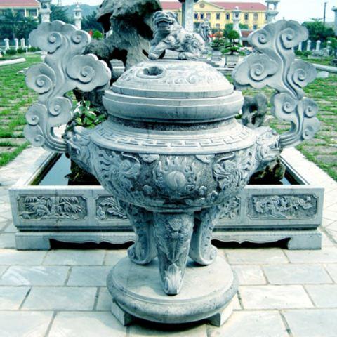 Bán mẫu lư hương bằng đá đẹp tại Ninh Bình