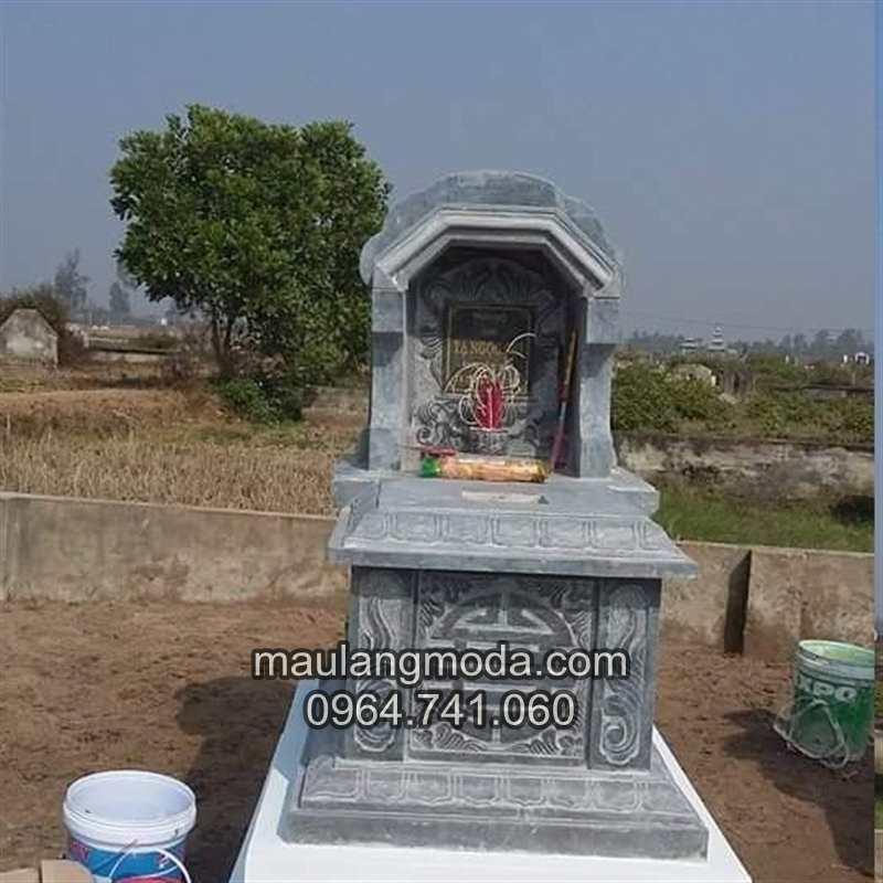 mẫu mộ đá đơn giản 01, mẫu mộ đơn giản, mâu mộ hiện đại