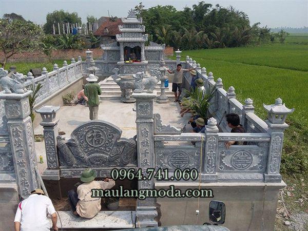 Lăng mộ đá đẹp - Mẫu lăng mộ đẹp - Lăng mộ đá Ninh Bình