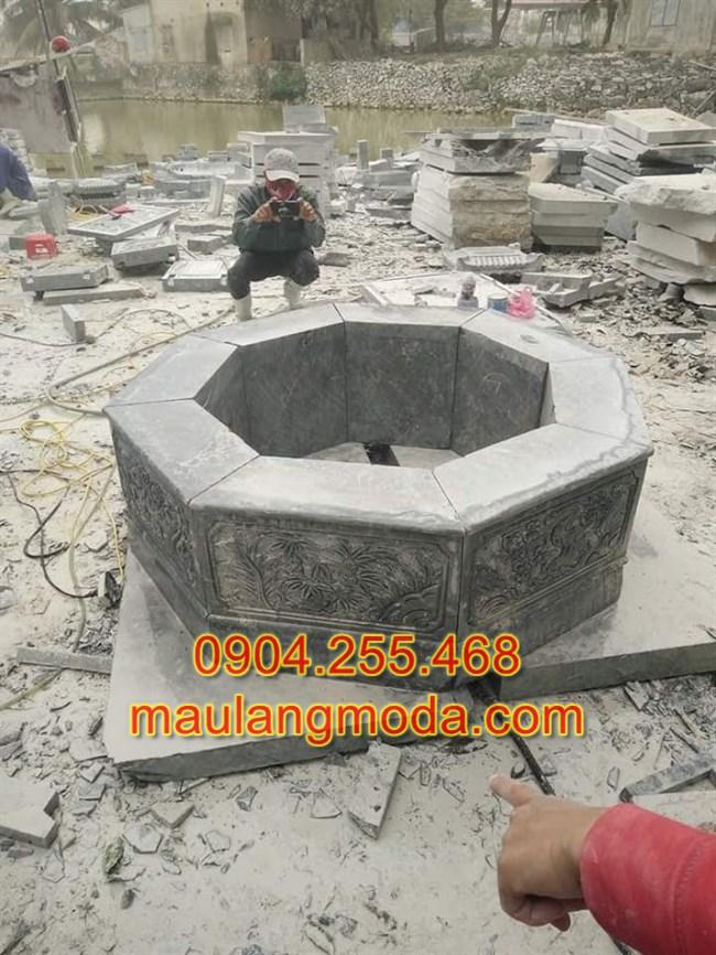 Mẫu mộ đá bát giác đẹp,Mộ đá bát giác, Mộ bát giác, Mẫu mộ bát giác,Mẫu mộ bát giác đẹp