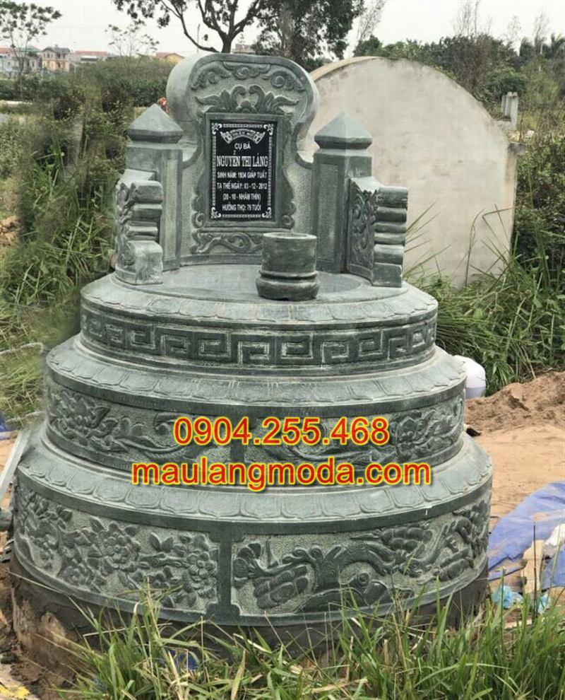 Mộ đá tròn xanh rêu,Mộ đá xanh rêu đẹp, mẫu mộ đá xanh rêu, Mộ đá xanh rêu đẹp nhất,mẫu mộ đá xanh đẹp