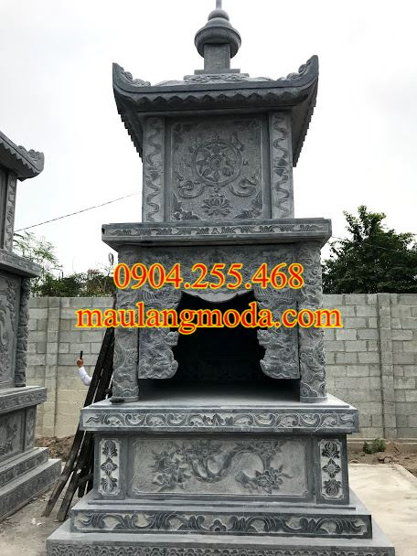 15 Mẫu mộ tháp đá phật giáo đẹp nhất 2019-02