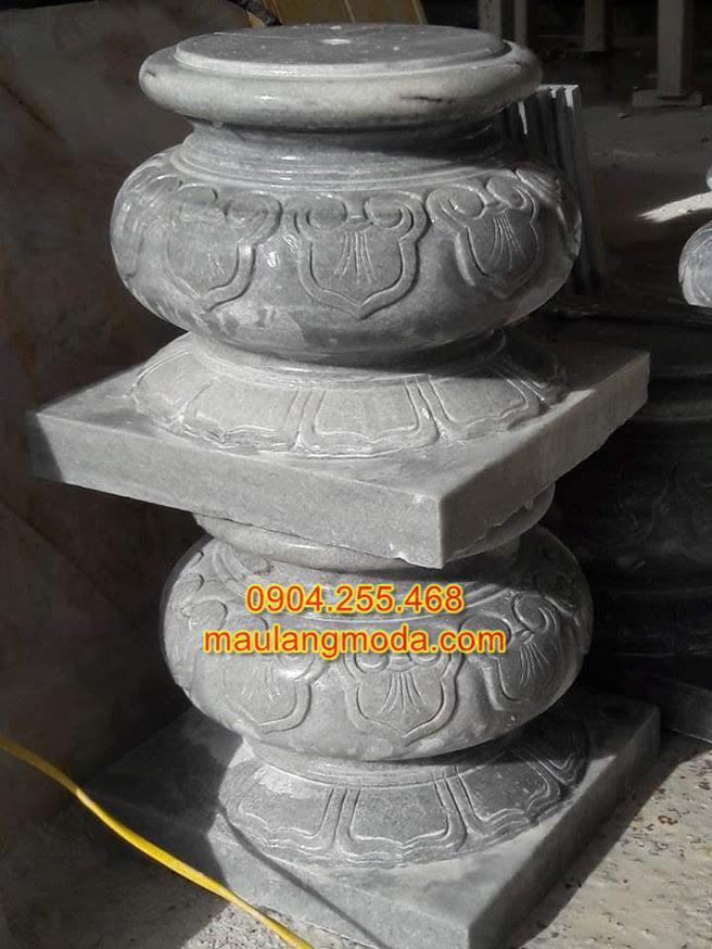 Mẫu Chân tảng đá tròn,Chân tảng đá, Đá kê chân cột, Chân cột đá,mẫu chân cột tròn đẹp