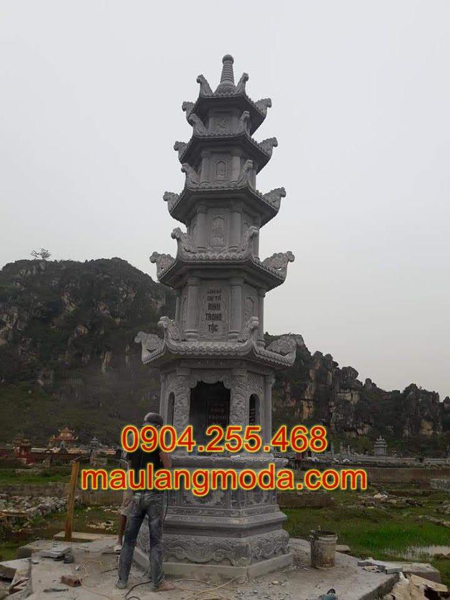 Mộ tháp đá, Mộ đá hình tháp, Mộ tháp đá đẹp, Mẫu mộ tháp đẹp