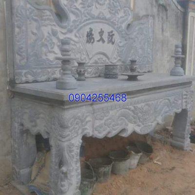 Bàn lễ đá khối đẹp chất lượng tốt giá hợp lý thiết kế cao cấp