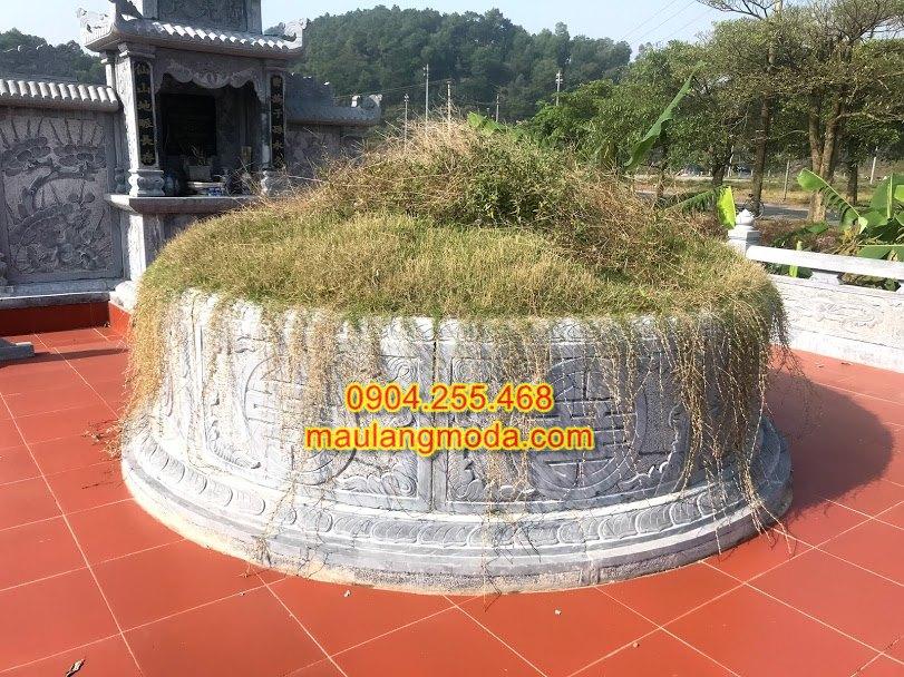 mộ đá tròn,mộ tròn phong thủy,mộ hình tròn,mộ đá hình tròn,mộ tròn đá đẹp,kích thước mộ đá tròn,mẫu mộ tròn đẹp,xây mộ tròn,mẫu xây mộ tròn