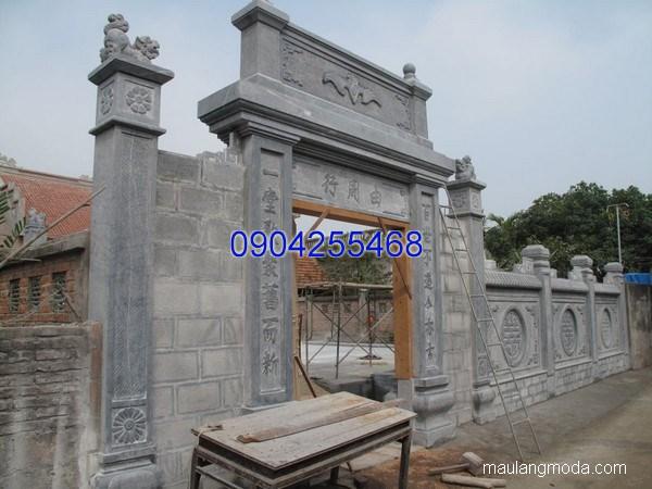Cổng tam quan đá đẹp nhất chất lượng tốt giá rẻ thiết kế cao cấp