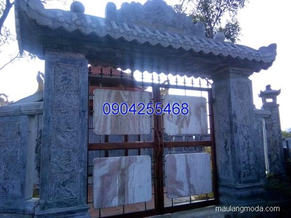 Cổng tam quan đá xanh đẹp chất lượng cao giá tốt