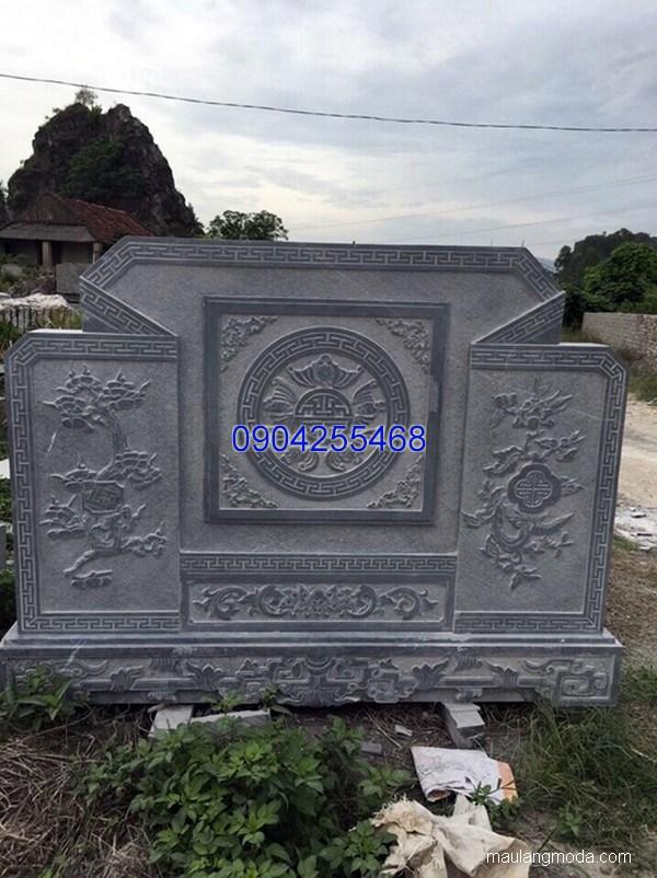 Bức bình phong cuốn thư đá chạm khắc tinh tế chất lượng tốt giá rẻ