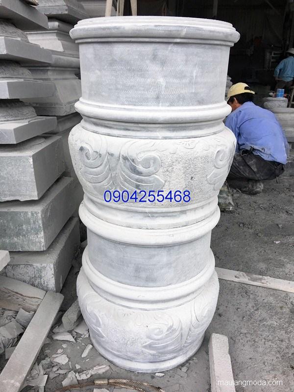 Đá kê cột chạm khắc đẹp chất lượng cao giá rẻ