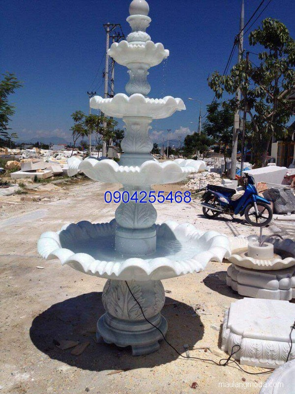 Đài phun nước đá xanh đẹp chất lượng cao giá rẻ thiết kế hiện đại
