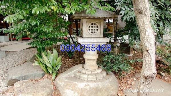 Đèn đá trang trí sân vườn đẹp thiết kế hiện đại giá tốt