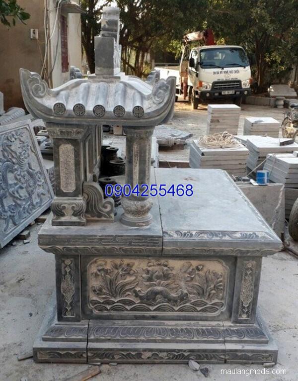 Lăng mộ đá xanh đẹp nhất chất lượng tốt giá rẻ thiết kế cao cấp