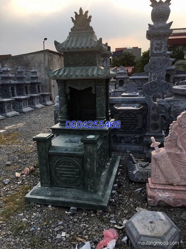 Lăng mộ đá xanh đẹp nhất chất lượng tốt giá hợp lý thiết kế cao cấp