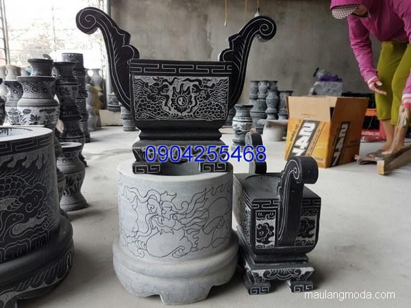 Lư hương đá chạm khắc tinh xảo chất lượng cao giá rẻ