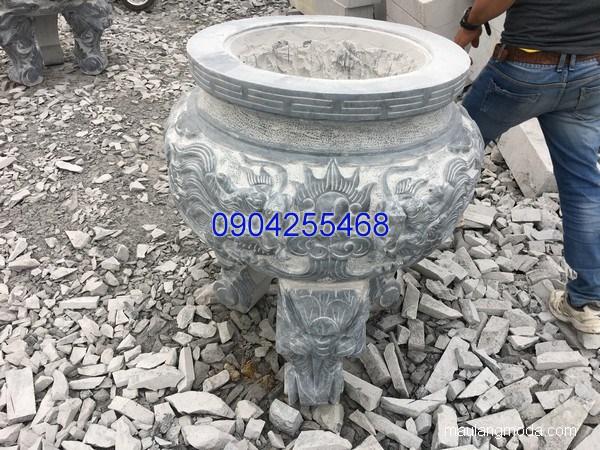 Lư hương đá hoa văn tinh tế chất lượng cao giá rẻ