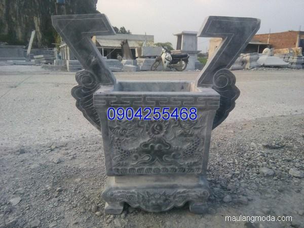 Lư hương đá hoa văn tinh tế chất lượng cao giá hợp lý