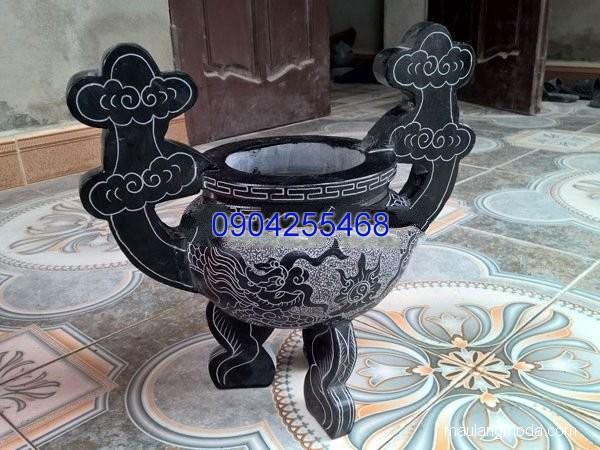 Lư hương đá hoa văn tinh tế thiết kế cao cấp giá rẻ