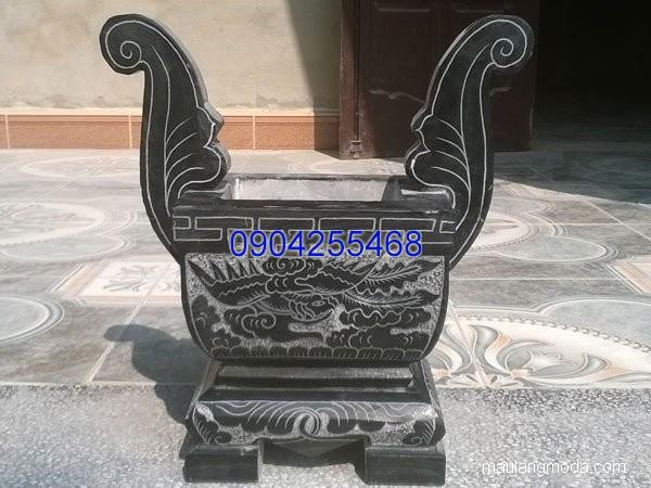 Lư hương đá hoa văn tinh tế thiết kế cao cấp giá hợp lý