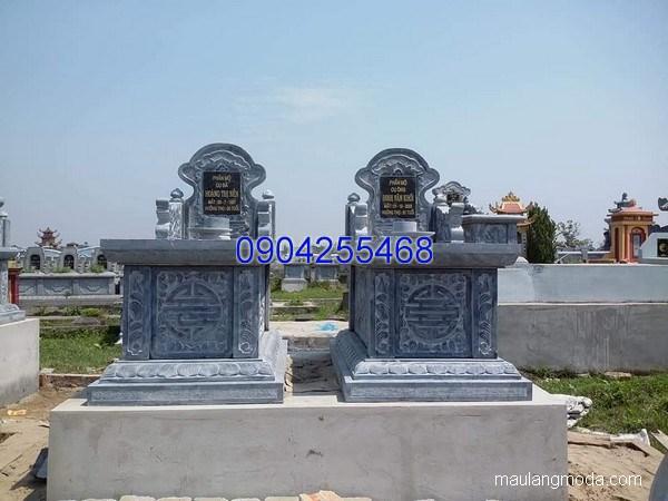 Mẫu mộ đá bành đẹp chạm khắc tinh xảo chất lượng cao giá rẻ