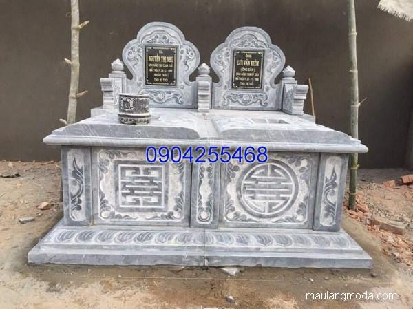 Mẫu mộ đá bành đẹp thiết kế cao cấp chất lượng cao giá rẻ