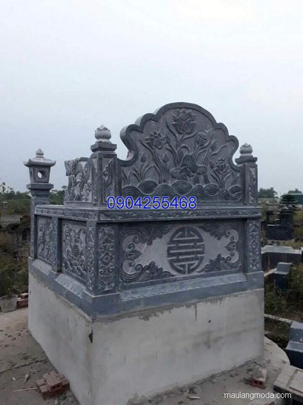 Mẫu mộ đá bành đẹp thiết kế cao cấp chất lượng cao giá hợp lý