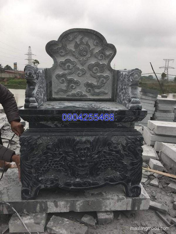 Mẫu mộ đá bành đẹp thiết kế cao cấp chất lượng tốt giá rẻ