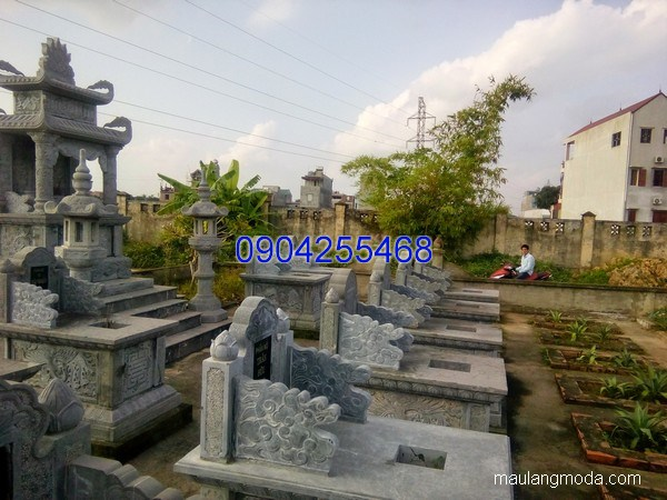 Mẫu mộ đá bành đẹp thiết kế cao cấp chất lượng tốt giá tốt