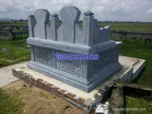 Mẫu mộ đá bành đẹp thiết kế đơn giản chất lượng cao giá rẻ