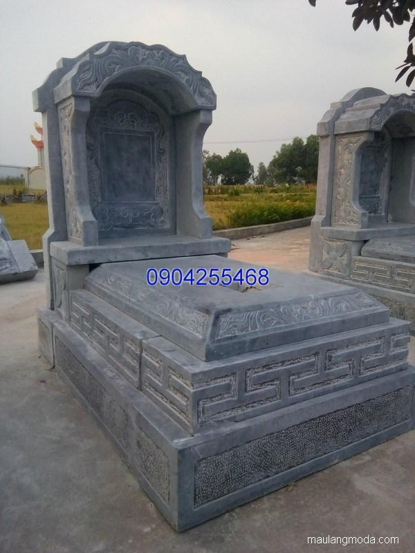 Mẫu mộ đá bành đẹp thiết kế đơn giản chất lượng cao giá hợp lý
