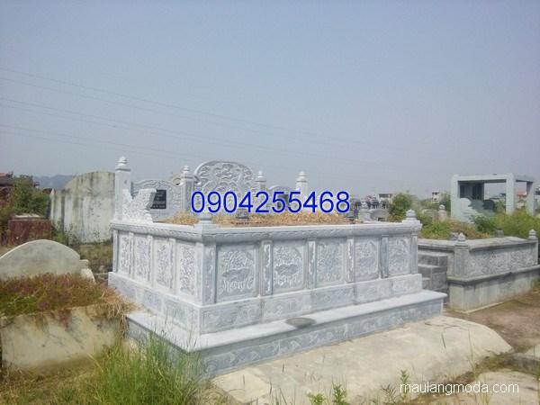 Mẫu mộ đá bành đẹp thiết kế đơn giản chất lượng tốt giá rẻ