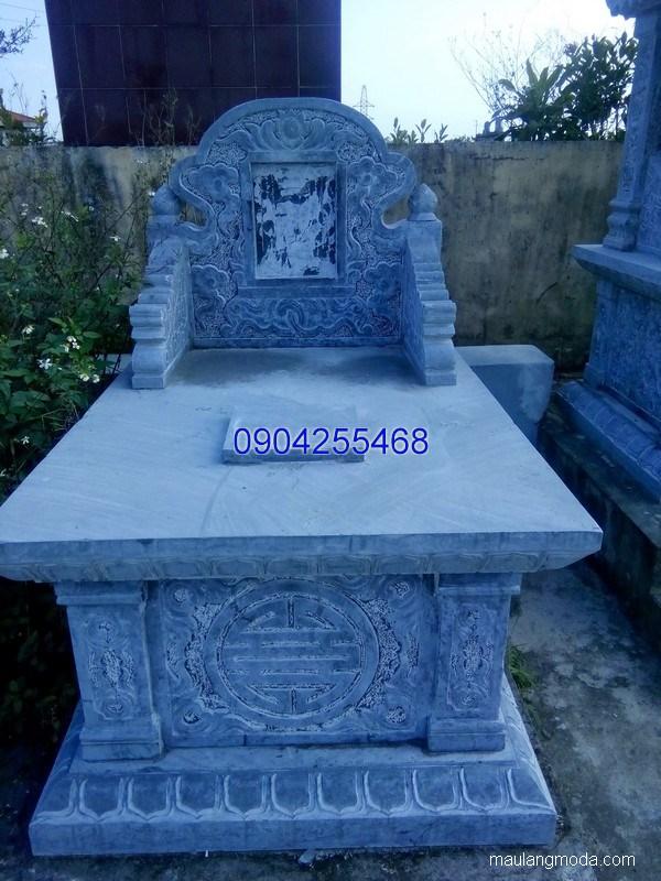 Mẫu mộ đá bành đẹp thiết kế đơn giản chất lượng tốt giá hợp lý
