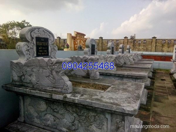 Mẫu mộ đá bành đẹp chạm khắc tinh tế chất lượng cao giá rẻ