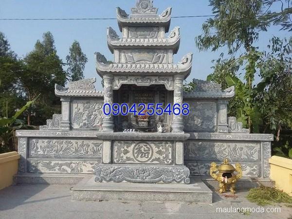 Mộ ba mái đá đẹp thiết kế cao cấp chất lượng cao giá rẻ