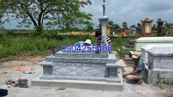 Mộ đá công giáo đẹp chuẩn phong thủy chất lượng tốt giá rẻ