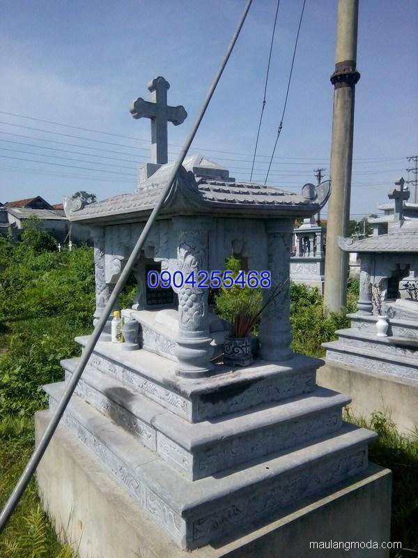 Mộ đá công giáo đẹp hợp phong thủy chất lượng cao giá rẻ