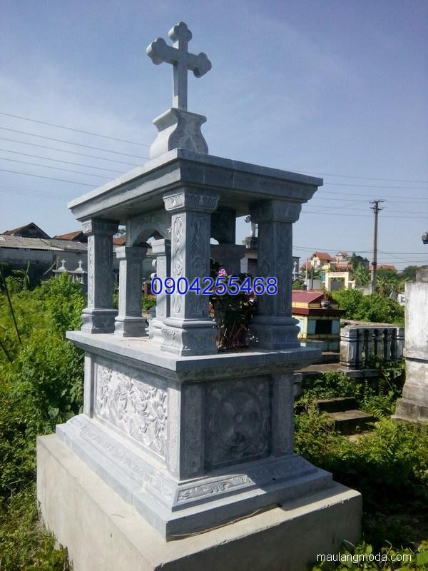 Mộ đá công giáo đẹp chuẩn phong thủy chất lượng cao giá tốt