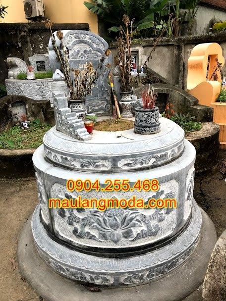 mộ đá tròn 01,mộ tròn phong thủy,mộ hình tròn,mộ đá hình tròn,mộ tròn đá đẹp,kích thước mộ đá tròn,mẫu mộ tròn đẹp,xây mộ tròn,mẫu xây mộ tròn