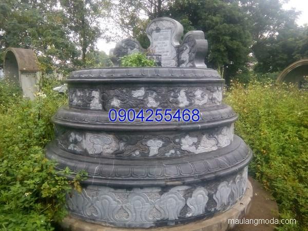 Mẫu mộ đá đẹp chuẩn kích thước lỗ ban chất lượng cao giá tốt