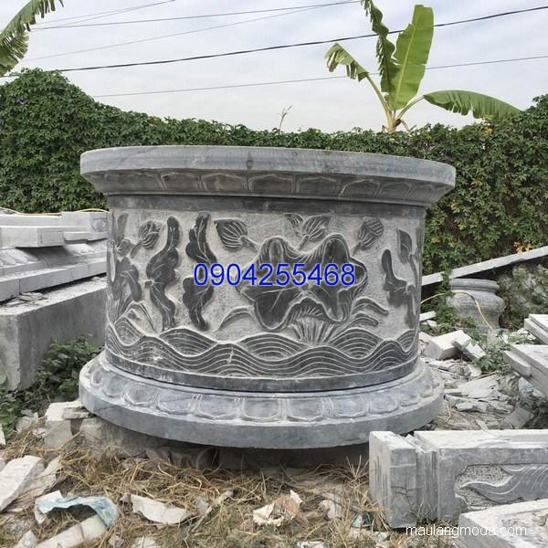 Mẫu mộ đá tròn đẹp hợp phong thủy chất lượng cao giá rẻ