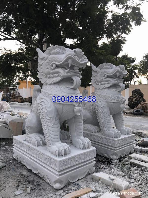 Tượng nghê đá phong thủy đẹp chất lượng cao giá rẻ