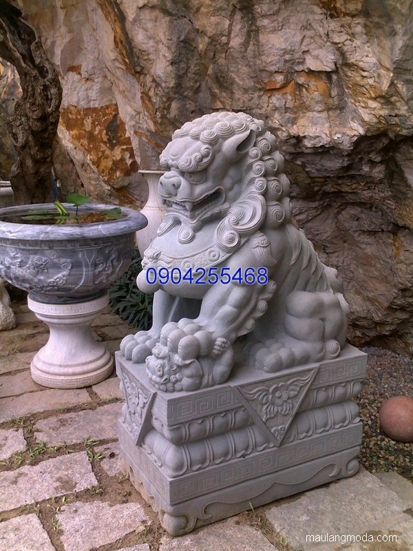 Tượng nghê đá phong thủy đẹp chất lượng cao giá tốt