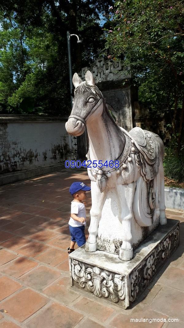 Tượng ngựa đá phong thủy đẹp nhất chất lượng cao giá tốt