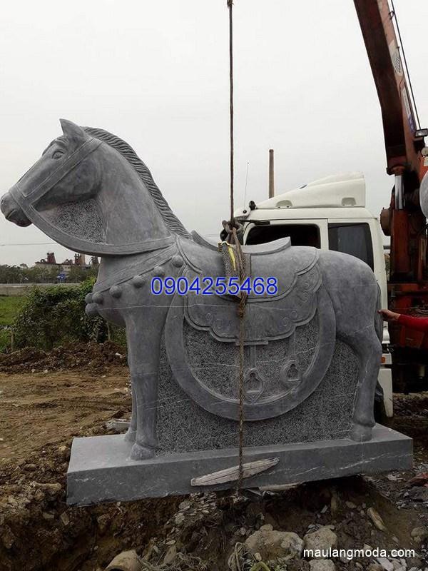 Tượng ngựa đá phong thủy đẹp nhất chất lượng cao giá hợp lý