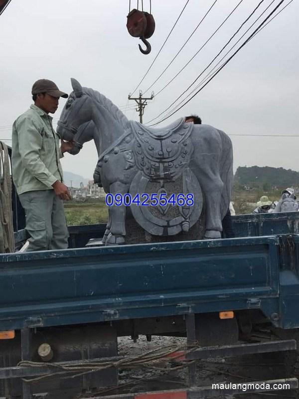 Tượng ngựa đá phong thủy đẹp nhất chất lượng tốt giá hợp lý