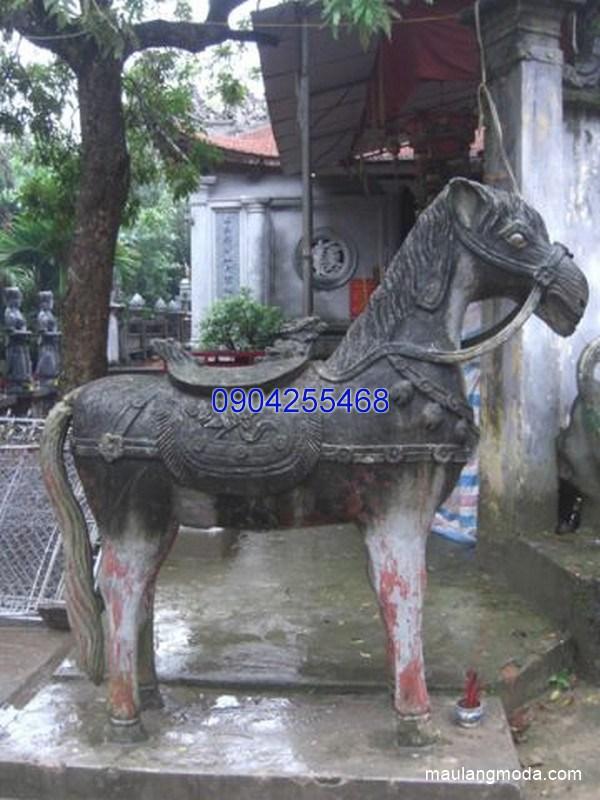 Tượng ngựa đá đẹp chất lượng cao giá rẻ