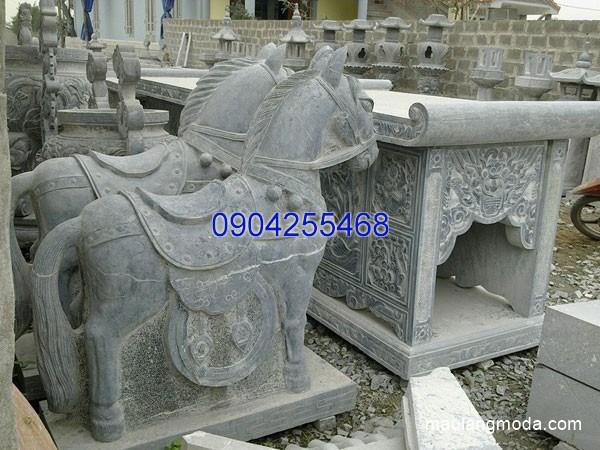 Tượng ngựa đá đẹp chất lượng cao giá tốt