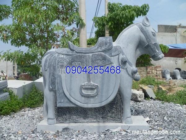 Tượng ngựa đá đẹp chất lượng tốt giá tốt
