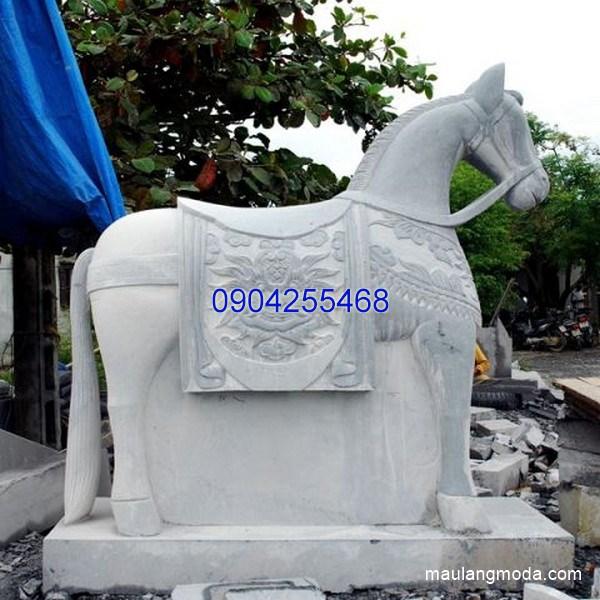 Tượng ngựa đá đẹp chất lượng tốt giá hợp lý